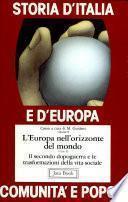 Storia d'Italia e d'Europa. Comunità e popoli