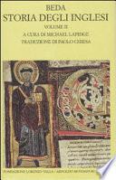 Storia degli inglesi: Libri III-V