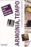 Storia dei concetti musicali: Armonia, tempo