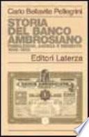 Storia del Banco Ambrosiano