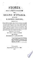 Storia dell'amministrazione del Regno d'Italia durante il dominio francese
