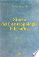 Storia dell'antropologia filosofica: Dalle origini fino a Vico