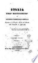 Storia dell'elettricita di Antonio Carnevale-Arella
