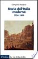 Storia dell'Italia moderna, 1550-1800