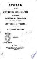 Storia della letteratura greca e latina