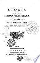 Storia della marca trivigiana e veronese di Giambatista Verci. Tomo primo [-tomo vigesimo]
