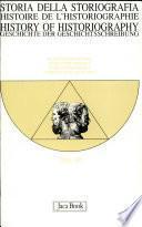 Storia della storiografia