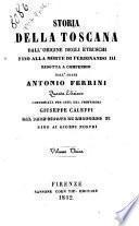 Storia della Toscana