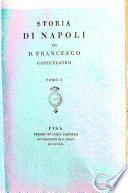 Storia di Napoli di D. Francesco Capecelatro Tomo 1. [-4.]