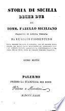 Storia di Sicilia, Deche due