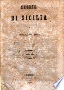 Storia di Sicilia volume unico di Niccolò Palmeri