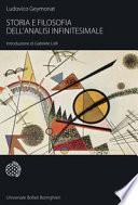 Storia e filosofia dell'analisi infinitesimale