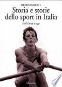 Storia e storie dello sport in Italia