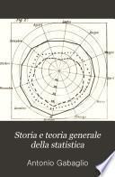 Storia e teoria generale della statistica