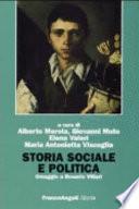 Storia sociale e politica
