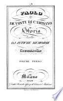 Storia tratta da antiche memorie Cremasche