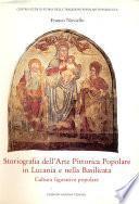Storiografia dell'Arte Pittorica Popolare in Lucania e nella Basilicata