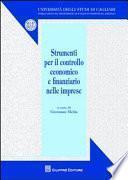 Strumenti per il controllo economico e finanziario nelle imprese
