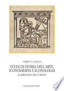 Studi di storia dell'arte, iconografia e iconologia