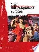 Studi sull' integrazione europea