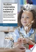 Studiare matematica e scienze in italiano L2.