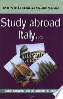 Study abroad Italy.org 2005