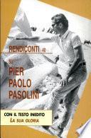Su Pier Paolo Pasolini
