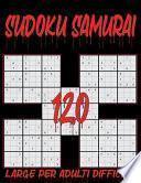Sudoku Samurai Large per Adulti Difficile - 120
