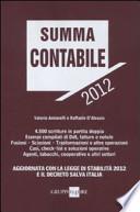 Summa contabile 2012
