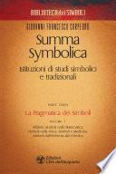 Summa Symbolica - Parte terza (vol. 1)
