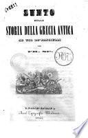 Sunto della storia della grecia antica ad uso de' fanciulli per Fr. Sp