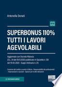 Superbonus 110%. Tutti i lavori agevolabili