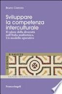 Sviluppare la competenza interculturale. Il valore della diversità nell'Italia multietnica. Un modello operativo