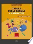 Tablet delle regole di matematica