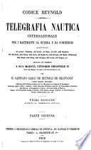 Telegrafia nautica internazionale per i bastimenti da guerra e da commercio