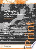 Temi e figure nell'architettura romana 1944-2004