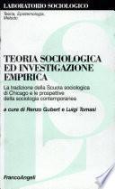 Teoria sociologica ed investigazione empirica