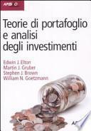 Teorie di portafoglio e analisi degli investimenti