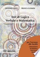 Test di Logica Verbale e Matematica