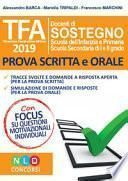 TFA. Tirocinio formativo attivo 2019. Prova scritta e orale