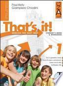 That's it! Extrabook. Con espansione online. Per la Scuola media