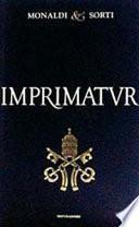 The Imprimatur Case: Story of an Italian Novel International Best Seller Banned in Italy