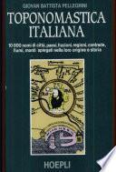 Toponomastica italiana