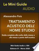Trattamento acustico dell'home studio
