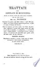 Trattati dei contratti di beneficenza giusta le regole tanto del foro della coscienza quanto del foro civile del Sig. Pothier ... Volume 1. [-4.]