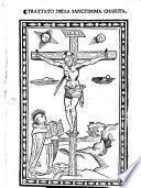Trattato della sanctissima charita\Gouanni \ ! Dominici fiorentino cardinale!