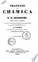 Trattato di chimica di G. G. Berzelius