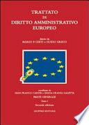 Trattato di diritto amministrativo europeo
