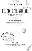 Trattato sul diritto internazionale pubblico di pace