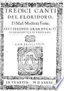 Tredici Canti Del Floridoro